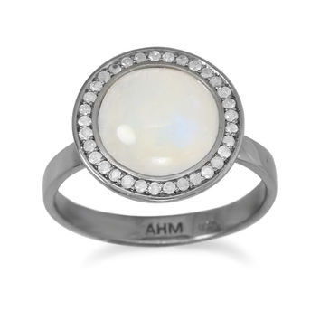Emma Grey Diamond Halo Ring