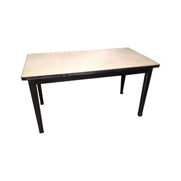 Pre-owned Industrial Repurposed Steel Desk Table