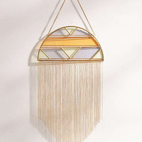 Alley Glass Fringe Wall Hanging | Urban Outfitters
