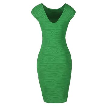 Women Sexy Rayon Elastic Celebrity Bandage Dress Bodycon Club Party Dresses Elegant Sleeveless Work Sheath Dress Summer 2017 New