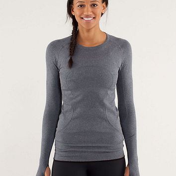 run:swiftly tech long sleeve | women's tops | lululemon athletica
