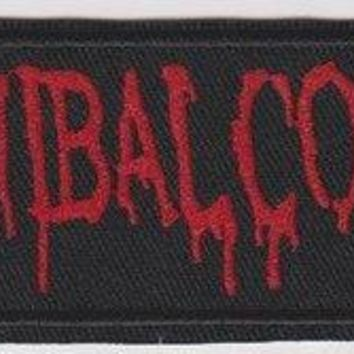 Cannibal Corpse Iron-On Patch Rectangle Letters Logo