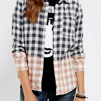 Urban Outfitters - byCORPUS Bleach-Dye Button-Down Shirt