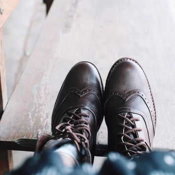 Lace up boots | Brogue Boots | Victorian boots | ladies boots | lace up ankle boots | Brogues