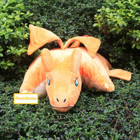 Charizard Pokemon Plush Pillow Stuffed Doll Anime Plushie Soft Toy Cushion Large