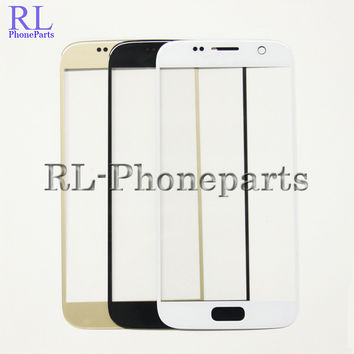 10pcs/lot Front Outer Screen Glass Lens Digitizer Cover Glass Replacement ports For Samsung Galaxy S7 G930F G930 G930A G930T