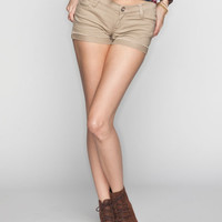 Rsq Malibu Womens Denim Shorts Khaki  In Sizes