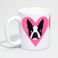 """I Love My Boston Terrier"" Mug 