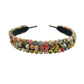 Beaded Kantha Headband
