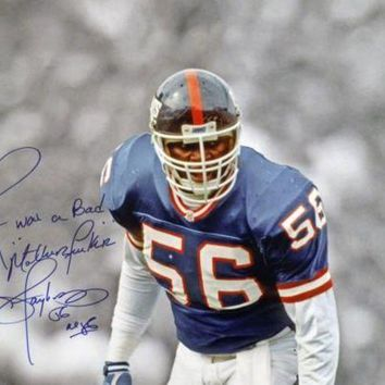 LMFONY Lawrence Taylor Signed Autographed 'I Was a Bad MF'er' Glossy 16x20 Photo New York Giants (ASI COA)
