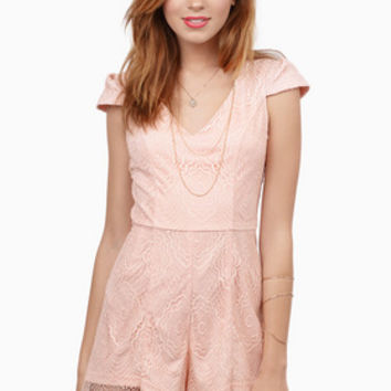 Evelyn Lace Romper $82