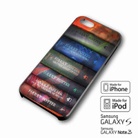 Harry Potter Books 1 7 iPhone 4 5 6 6+ Samsung Galaxy S3 4 5 iPod Touch 4 5 HTC One M7 8 Case