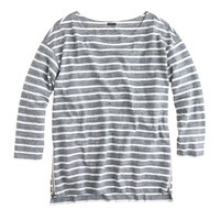 J.Crew Womens Side-Zip Stripe