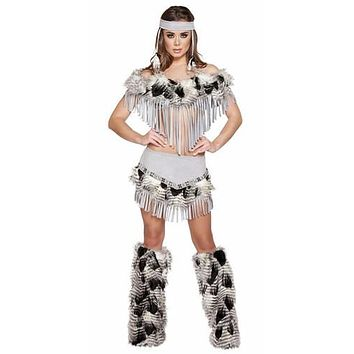 Sexy Ojibwa Indian Princess Halloween Costume