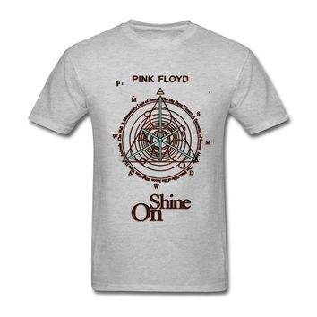 Pink Floyd Shine On T Shirts Men Musically Personalized for Youth Plus size Mens tshirt Cotton 3d Costumes