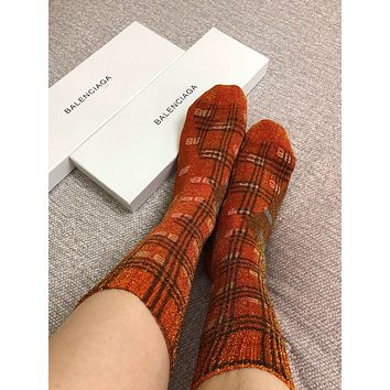 Balenciaga BB Lurex Socks