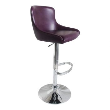 Kapp Adjustable Stool Purple