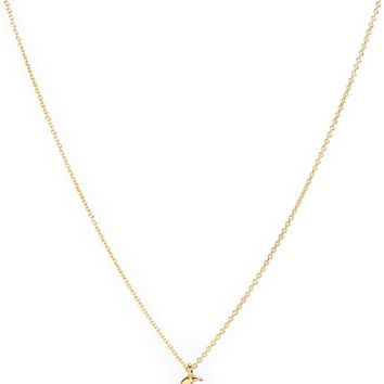 """Gold """"Over The Moon"""" Necklace by Juicy Couture, O/S"""