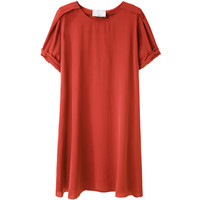 3.1 Phillip Lim Silk T-Shirt Dress