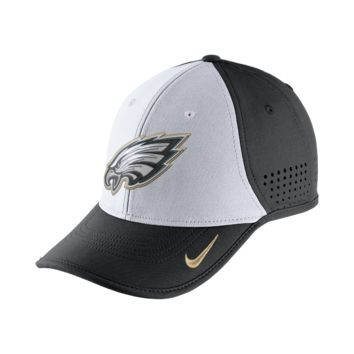Nike True Vapor (NFL Eagles) Adjustable Hat (Black)