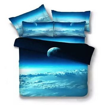 3D bedding set Home textile Twin/Queen Size Universe Bedspread 2pcs/3pcs/4pcs Bed Linen Bed Sheets Duvet Cover Set