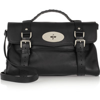 Mulberry | The Alexa textured-leather satchel | NET-A-PORTER.COM
