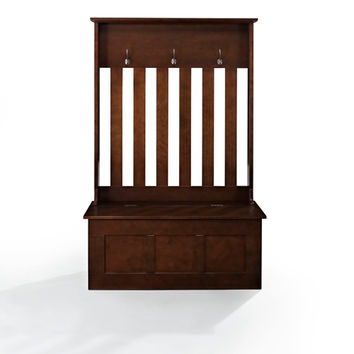 Crosley Furniture CF6001-MA Ogden Mahogany Entryway Hall Tree