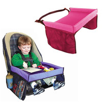 Kids Waterproof Carseat Tray - Great for messy Toddlers!