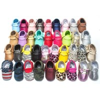 Free Shipping 29-Colors Fashion Tassel Leather Baby Shoes Moccasins Boy Toddler Shoes Infant Newborn Girl Baby Shoes 2212