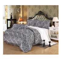 Silk King Queen Double Size Silk Duvet Quilt Cover Sets Bedding Cover Set 2.0M/2.2M Bed 06