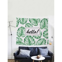 Tropical Print Tapestry