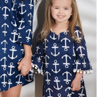 Anchor Tunic or Cover Up