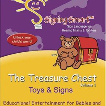 THE TREASURE CHEST TOYS AND SIGN