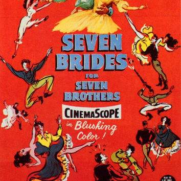 Seven Brides for Seven Brothers 11x17 Movie Poster (1954)