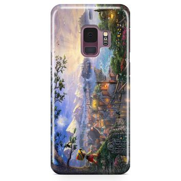 Disney Peter Pan Tink Fairy Wings Pixie Dust Bun Samsung Galaxy S9 Case | Casefantasy