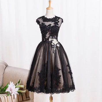 IBayU Elegant Cocktail Dresses For Party Vestidos De Graduacion Short Junior Prom Dresses Luxury Cocktail Dresses Beading Lace