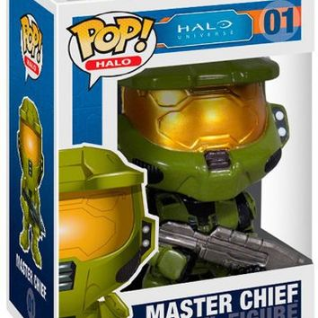 Funko POP Halo Master Chief Vinyl Figure
