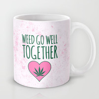 Weed Go Well Together  Mug by LookHUMAN
