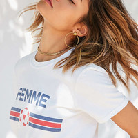 Cooperative Femme Tee | Urban Outfitters