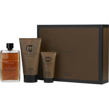 Gucci Gift Set Gucci Guilty Absolute By Gucci