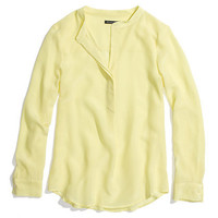 Silk Popover - blouses - Women's SHIRTS & TOPS - Madewell
