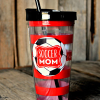 22 OZ. SOCCER MOM TUMBLER