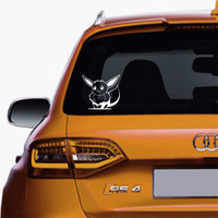 Eevee Pokemon Decals Sticker Vinyl For Car Truck SUV Window Decal Stickers
