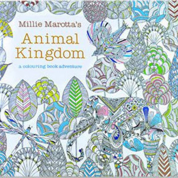 24 Pages Drawing Book Animal Kingdom English Edition Coloring For Childs Adult Relieve Stress Kill
