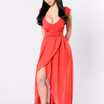 No Other Love Dress - Red