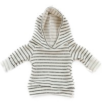 Baby Jogger Hoodie in Charcoal Stripes