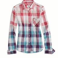 's Plaid Girlfriend Shirt