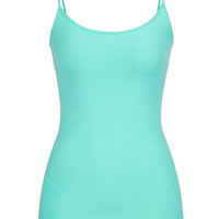 Basic Colored Seamless Cami