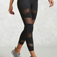 Active Mesh Capri Leggings