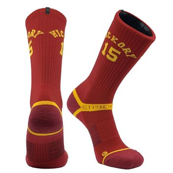 Strideline Indiana Old School Hickory Legacy 15 Crew socks